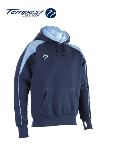 Tempest 'CK' Navy Sky Hooded Sweatshirt